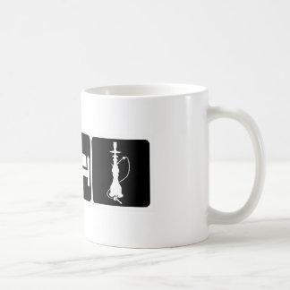 Coma, duerma, cachimba taza de café