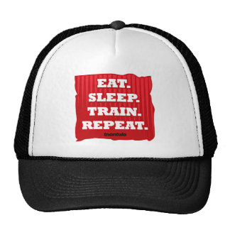 Coma, duerma, entrene, repita gorra