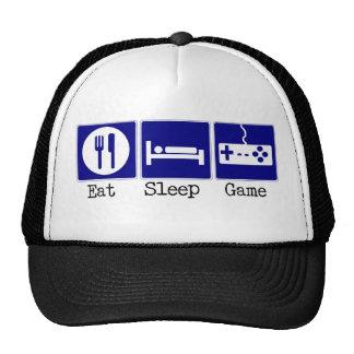 Coma, duerma, juego gorro de camionero