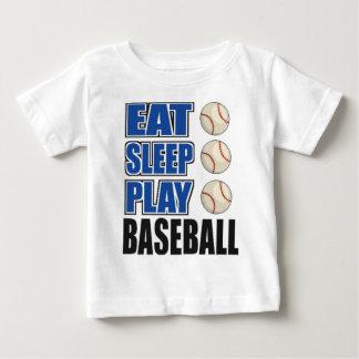 Coma, duerma, juegue al béisbol polera