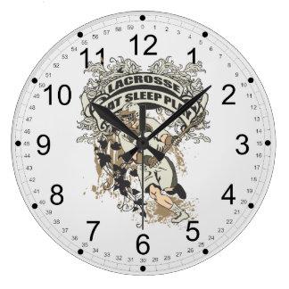 Coma, duerma, juegue LaCrosse Relojes De Pared