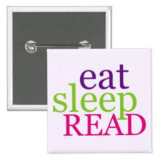 Coma, duerma, LEA - retro Pins