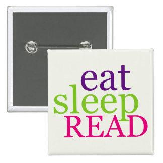 Coma, duerma, LEA - retro Pin