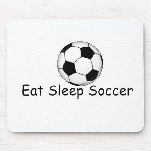 coma, duerma, los regalos del fútbol tapete de ratón