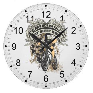 Coma, duerma, monte Biking Reloj