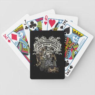 Coma duerma monte todo el terreno baraja de cartas