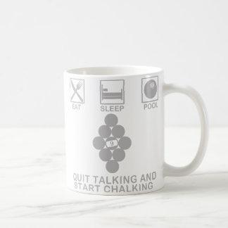 Coma, duerma, reúna la taza