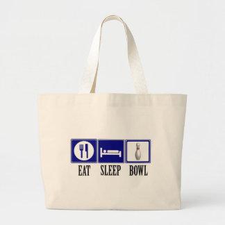 Coma, duerma, ruede bolsa de mano