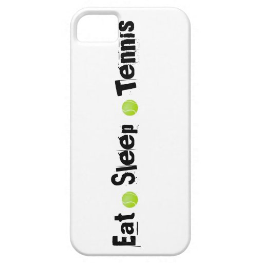 Coma, duerma, tenis funda para iPhone 5 barely there