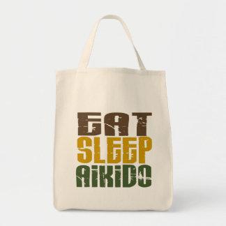 Coma el Aikido 1 del sueño Bolsa Tela Para La Compra