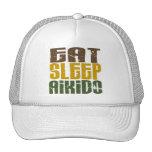 Coma el Aikido 1 del sueño Gorros Bordados