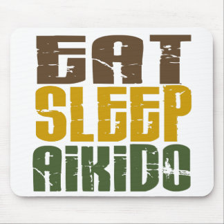 Coma el Aikido 1 del sueño Tapetes De Raton