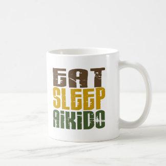 Coma el Aikido 1 del sueño Taza De Café