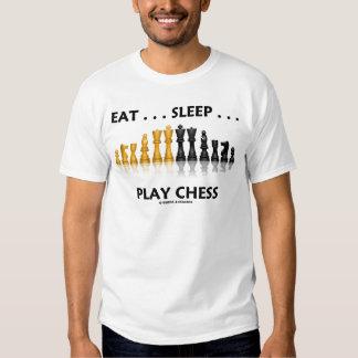 Coma… el ajedrez del juego del sueño… (la actitud camisas