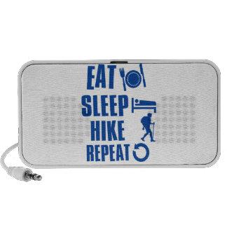 Coma el alza del sueño notebook altavoz