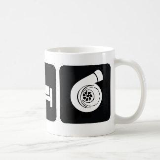 Coma el alza del sueño tazas de café