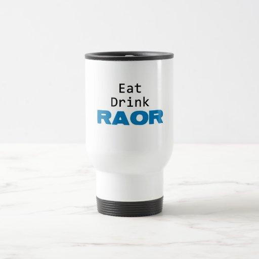 coma el azul del raor de la bebida taza de café