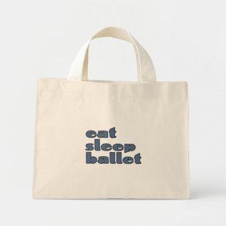 coma el ballet del sueño bolsa de tela pequeña
