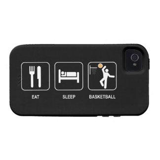 Coma el baloncesto del sueño iPhone 4/4S funda
