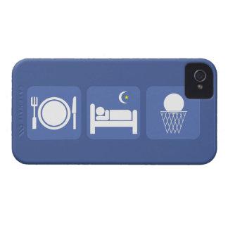 coma el baloncesto del sueño Case-Mate iPhone 4 carcasas