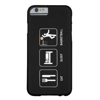 Coma el baloncesto del sueño funda para iPhone 6 barely there