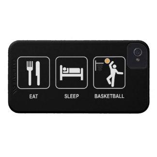 Coma el baloncesto del sueño Case-Mate iPhone 4 cárcasa