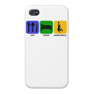 Coma el baloncesto del sueño iPhone 4 coberturas
