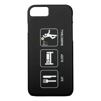 Coma el baloncesto del sueño funda iPhone 7