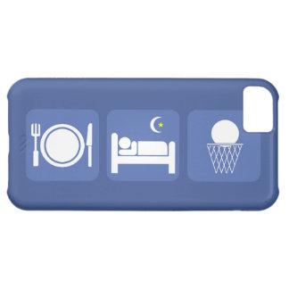 coma el baloncesto del sueño funda para iPhone 5C