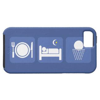 coma el baloncesto del sueño funda para iPhone SE/5/5s