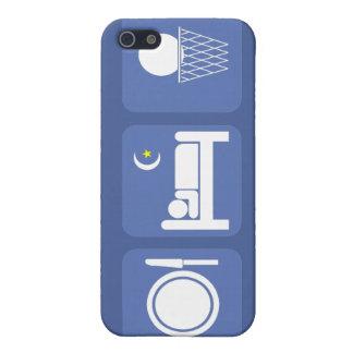 coma el baloncesto del sueño iPhone 5 carcasas