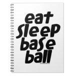 Coma el béisbol 2 del sueño libros de apuntes