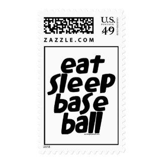 Coma el béisbol 2 del sueño franqueo