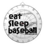Coma el béisbol 3 del sueño tablero dardos