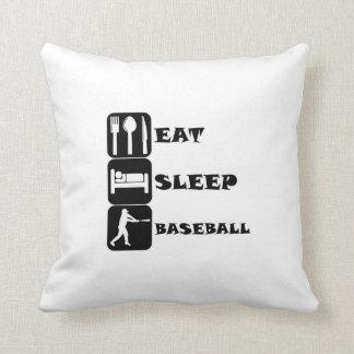 Coma el béisbol del sueño almohadas