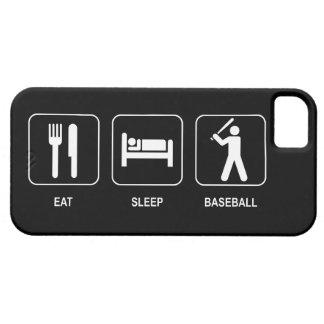 Coma el béisbol del sueño iPhone 5 protector