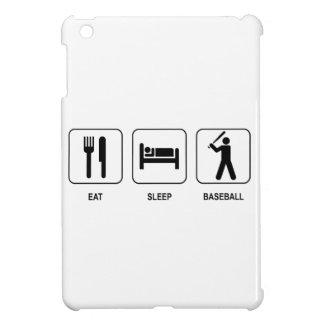 Coma el béisbol del sueño iPad mini carcasa