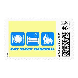Coma el béisbol del sueño