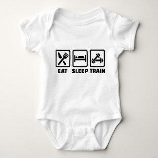 Coma el Bodybuilding del tren del sueño Tshirts