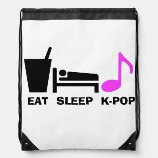 Coma el bolso de Kpop del sueño (la luz) Mochila