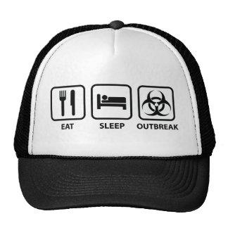 Coma el brote del sueño gorra