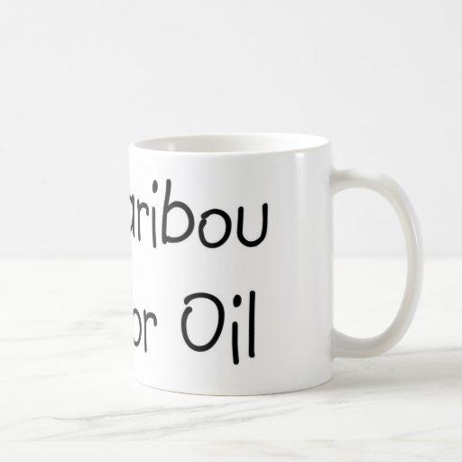 Coma el caribú taza de café
