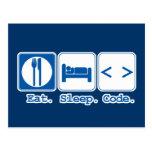 coma el código del sueño (el HTML)