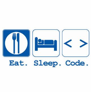 coma el código del sueño (el HTML) Adorno Fotoescultura