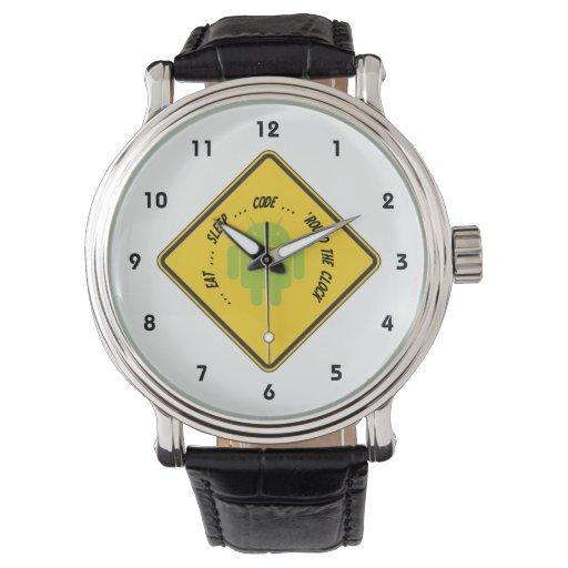 Coma… el código del sueño…… 'las veinticuatro relojes de mano