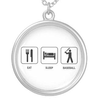 Coma el collar del béisbol del sueño