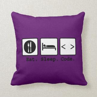 coma el desgaste del empollón del código del sueño almohada