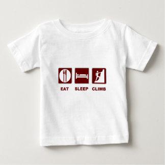 Coma el diseño de la camiseta y del regalo de la