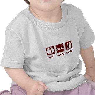 Coma el diseño de la camiseta y del regalo de la s