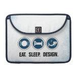 Coma el diseño del sueño funda macbook pro